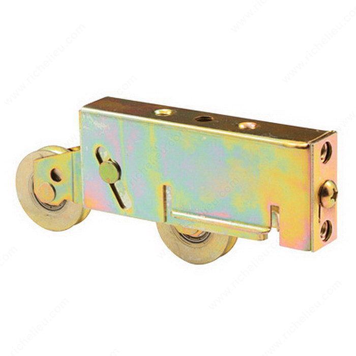 Roulettes tandem pour porte fen tre 38 mm 1 1 2 po for Quincaillerie porte fenetre