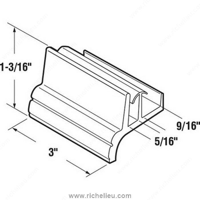 Shower Door Bottom Guide Richelieu Hardware