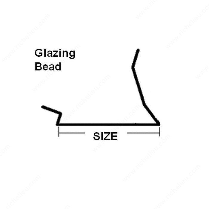 What Do Glazing Bead For Windows : Glazing bead richelieu hardware