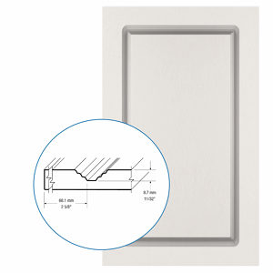 Thermofoil PVC Door: Series: 01 | Model: Standard