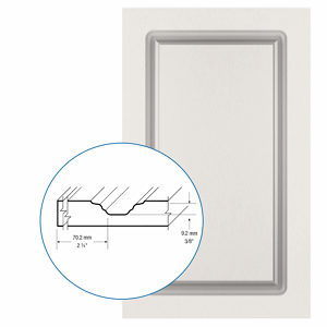 Thermofoil PVC Door: Series: 04 | Model: Standard