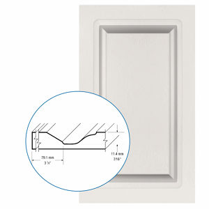 Thermofoil PVC Door: Series: 46 | Model: Standard