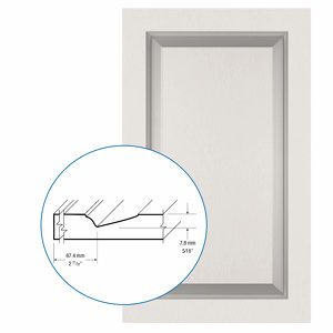 Thermofoil PVC Door: Series: 83 | Model: Standard