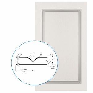 Thermofoil PVC Door: Series: 06 | Model: Standard