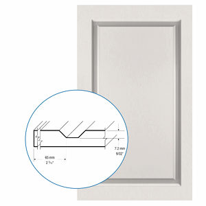 Thermofoil PVC Door: Series: 09 | Model: Standard