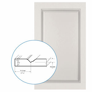 Thermofoil PVC Door: Series: 31 | Model: Standard