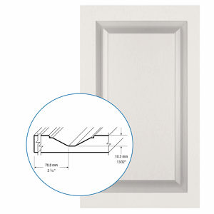 Thermofoil PVC Door: Series: 33 | Model: Standard