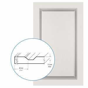 Thermofoil PVC Door: Series: 08 | Model: Standard