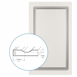 Thermofoil PVC Door: Series: 15 | Model: Standard
