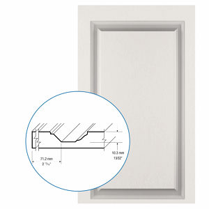 Thermofoil PVC Door: Series: 27 | Model: Standard