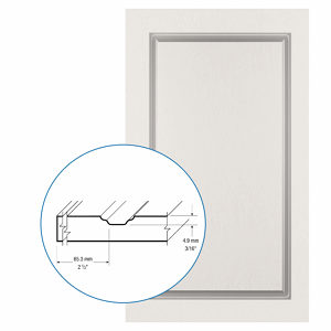 Thermofoil PVC Door: Series: 39 | Model: Standard