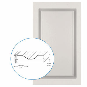 Thermofoil PVC Door: Series: 48 | Model: Standard