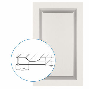 Thermofoil PVC Door: Series: 99 | Model: Standard