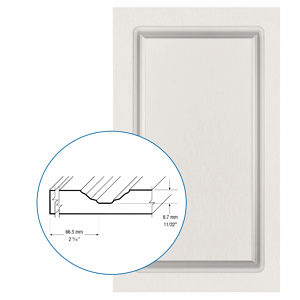 Thermofoil PVC Door: Series: 47 | Model: Standard