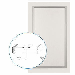 Thermofoil PVC Door: Series: 73 | Model: Standard