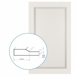 Thermofoil PVC Door: Series: 78 | Model: Standard