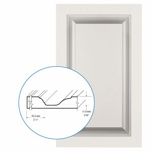 Thermofoil PVC Door: Series: 87 | Model: Standard