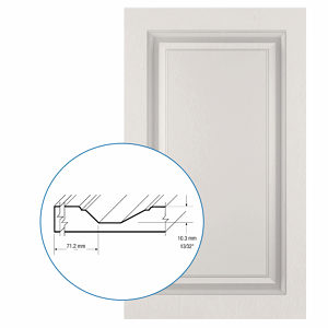 Thermofoil PVC Door: Series: 03 | Model: Standard