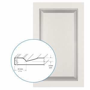 Thermofoil PVC Door: Series: 93 | Model: Standard
