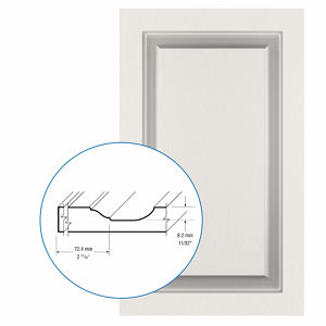 Thermofoil PVC Door: Series: 98 | Model: Standard