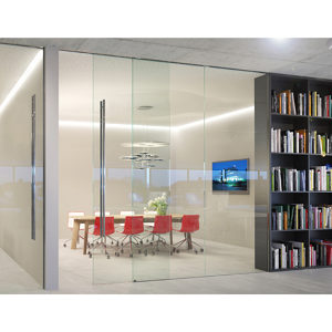 EKU-Porta 100 GWF Sliding and Fixed Glass Partition