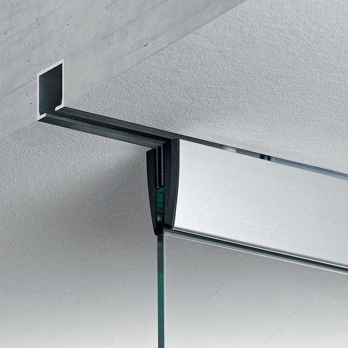 Eku porta 100 gm ceiling mount sliding glass door system for Internal sliding doors systems
