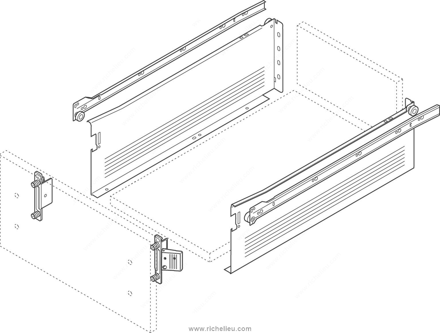 blum drawer front adjuster instructions