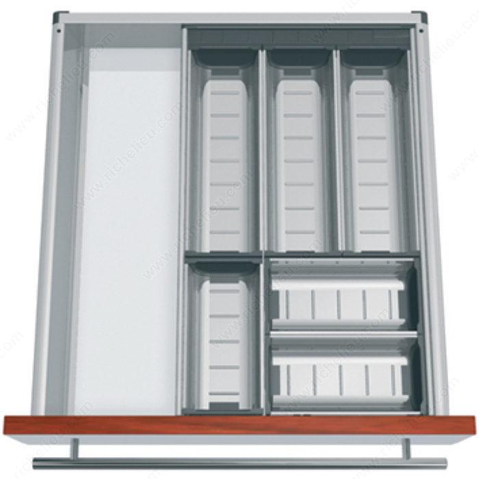 ensemble modulable orgaline pour couverts pour tiroir de. Black Bedroom Furniture Sets. Home Design Ideas