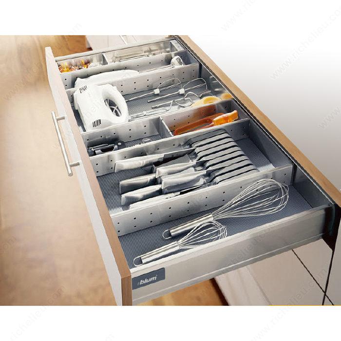 ensemble modulable orgaline pour ustensiles de cuisine pour tiroir de 500 mm 20 po de. Black Bedroom Furniture Sets. Home Design Ideas