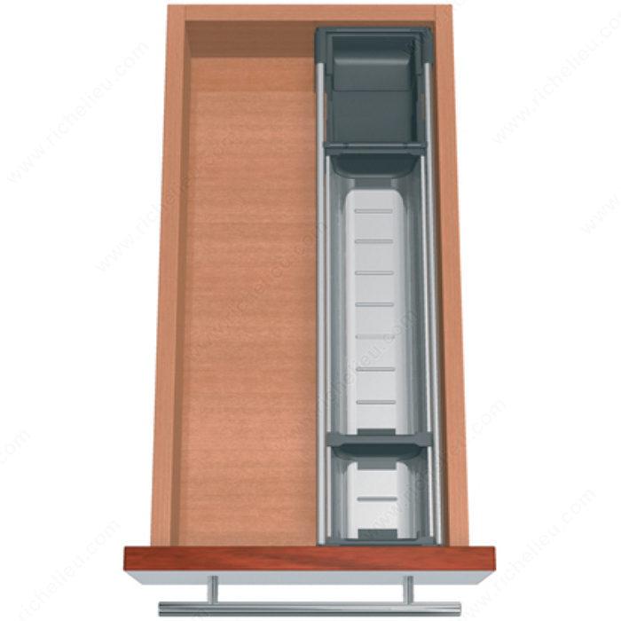 ensemble modulable orgaline pour couverts pour tiroir de 500 mm 20 po de profondeur par 275. Black Bedroom Furniture Sets. Home Design Ideas