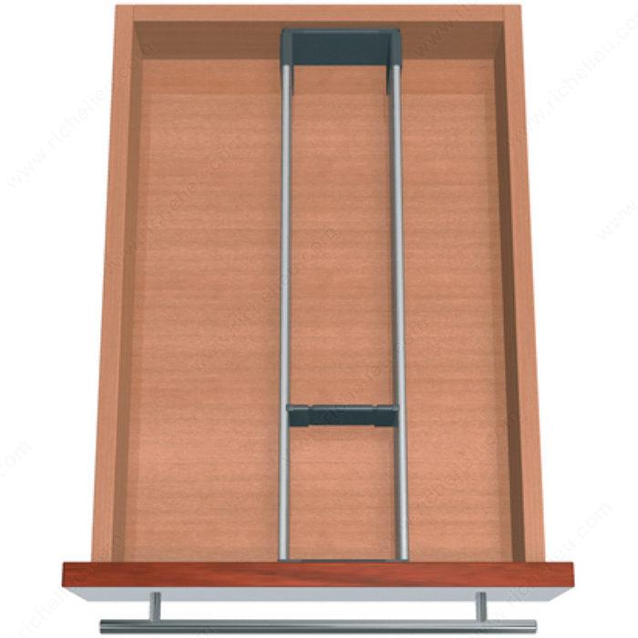 ensemble modulable orgaline pour ustensiles de travail couteaux et petits lectrom nagers pour. Black Bedroom Furniture Sets. Home Design Ideas