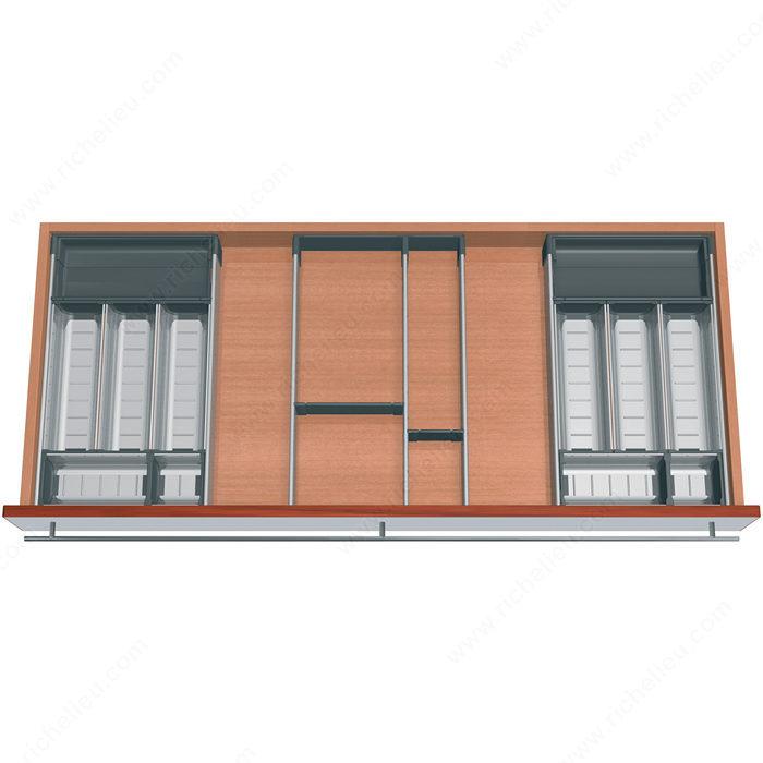560h Concealed Full Extension Drawer Slides 30 Kg 66 Lb