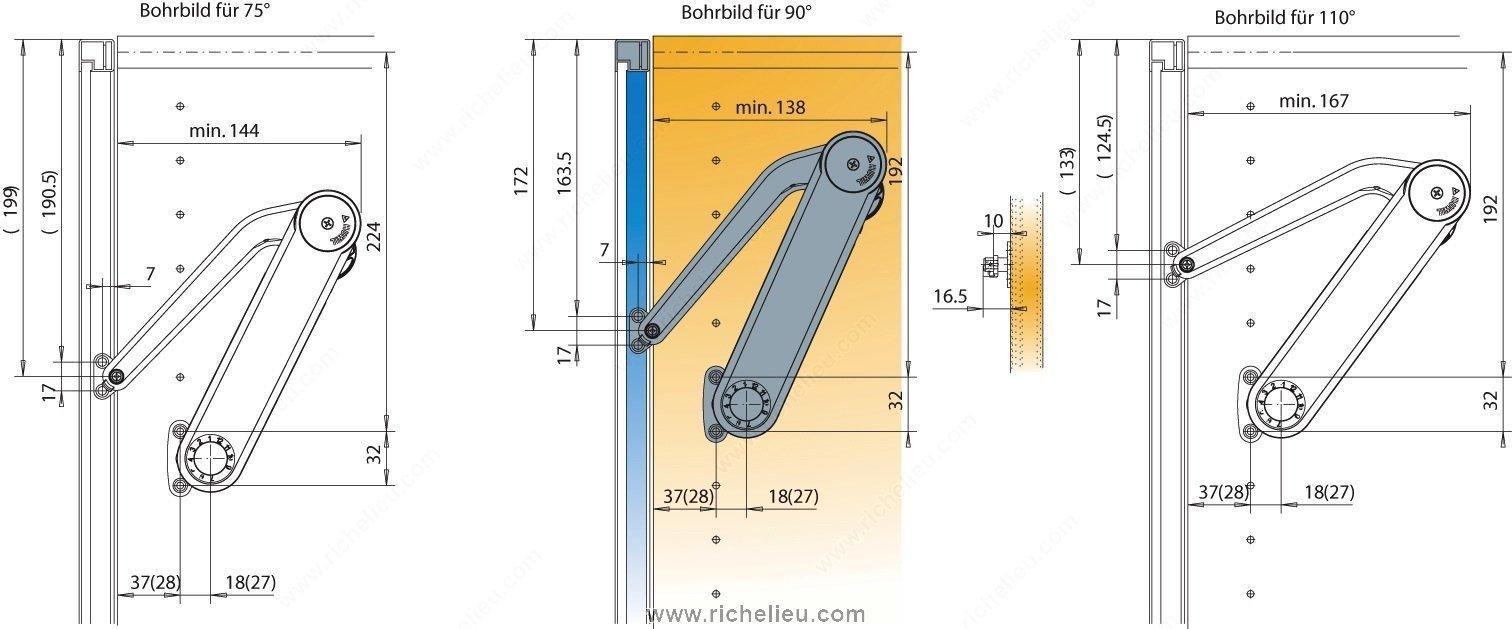 Other Mechanisms For Lift Up Doors Richelieu Hardware