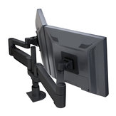Floating LCD Monitor Arms - Dual Monitors