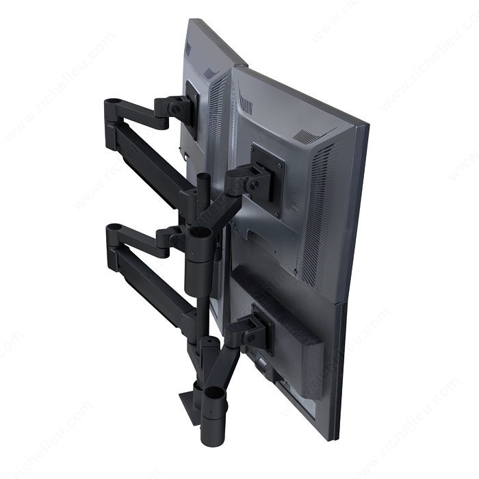Floating LCD Monitor Arms - Multiple Monitors-3