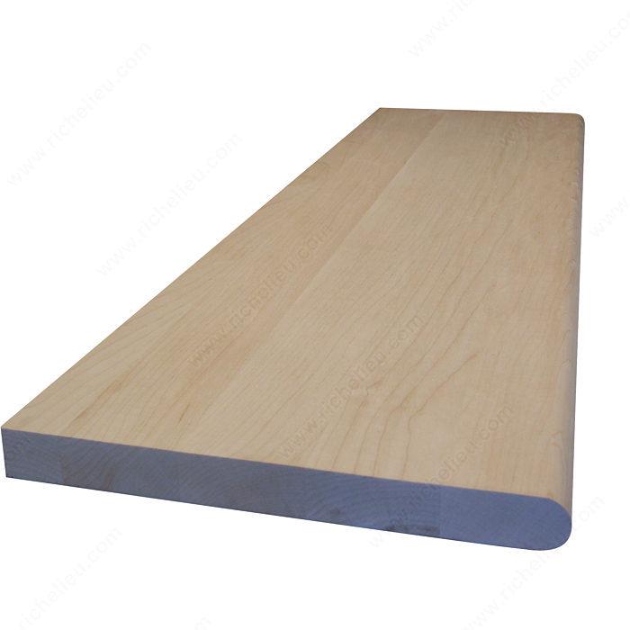 marches standard avec nez arrondi l 39 avant 11 1 2 po x. Black Bedroom Furniture Sets. Home Design Ideas