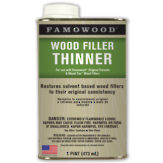 Wood Filler Thinner