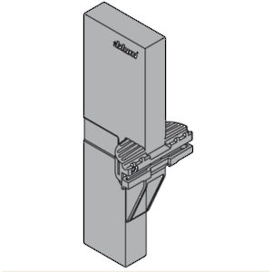 Cross Divider Connector for High Fronted Pull-out, Height C