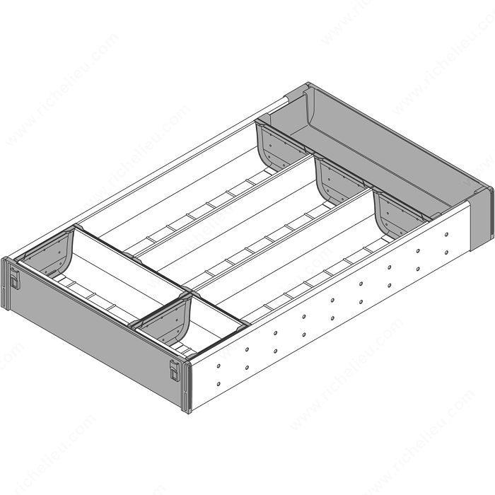 Range couverts pour tiroir en bois quincaillerie richelieu - Range couverts pour tiroir ...