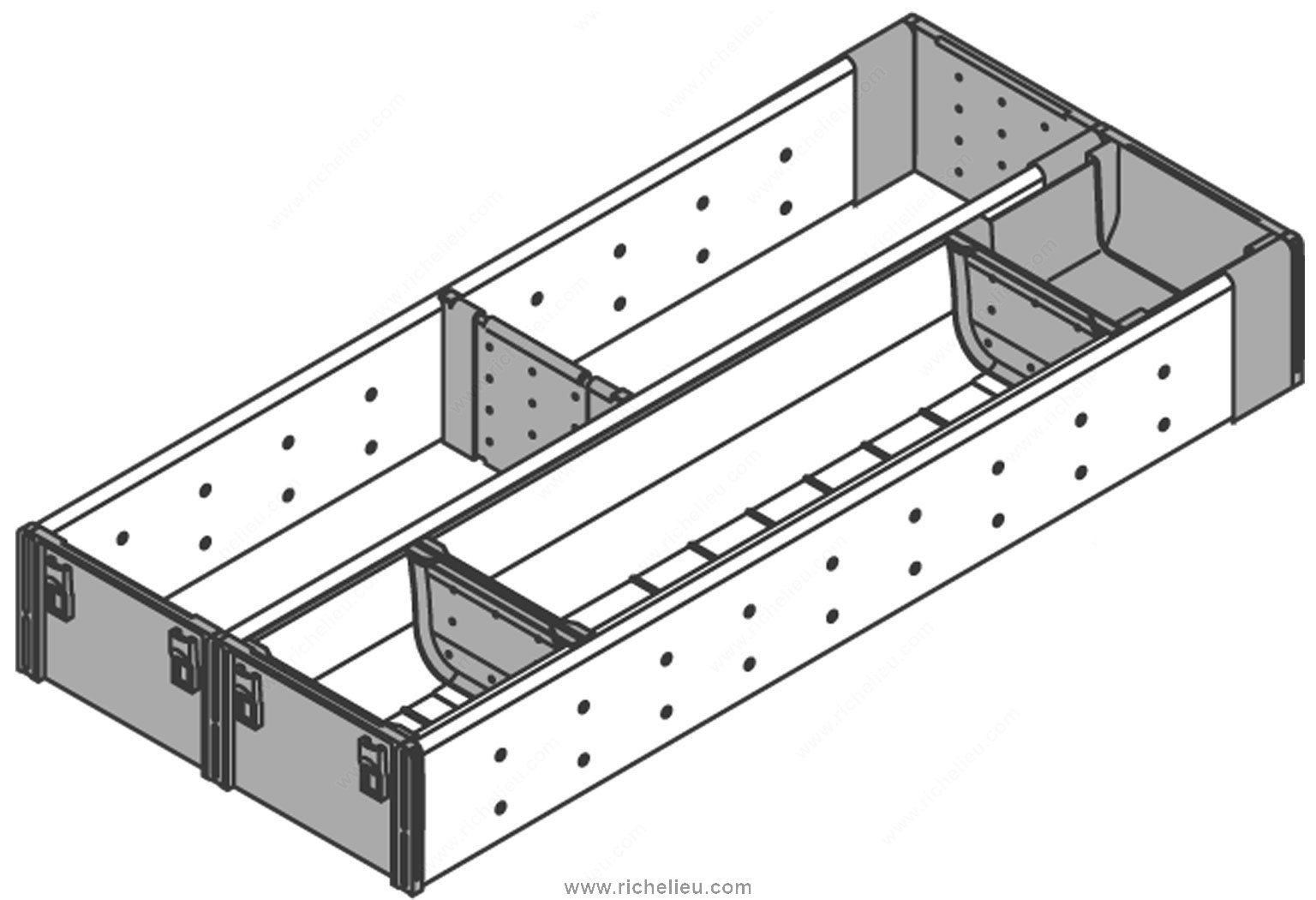 range couverts et casier ustensile pour tiroir en bois. Black Bedroom Furniture Sets. Home Design Ideas