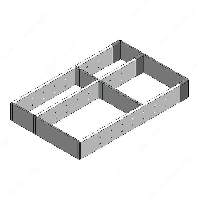 Range couverts et petits ustensiles pour tiroir de bois quincaillerie richelieu for Range couverts tiroir rennes