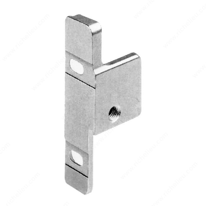 Standard Drawer Front Fixing Bracket For Metabox N