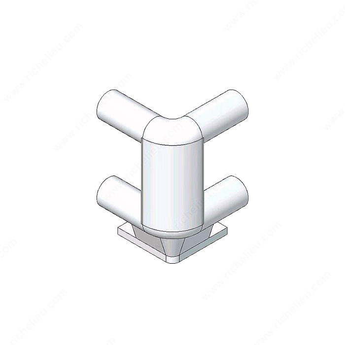 Double Corner Support for pull-out Shelf-1