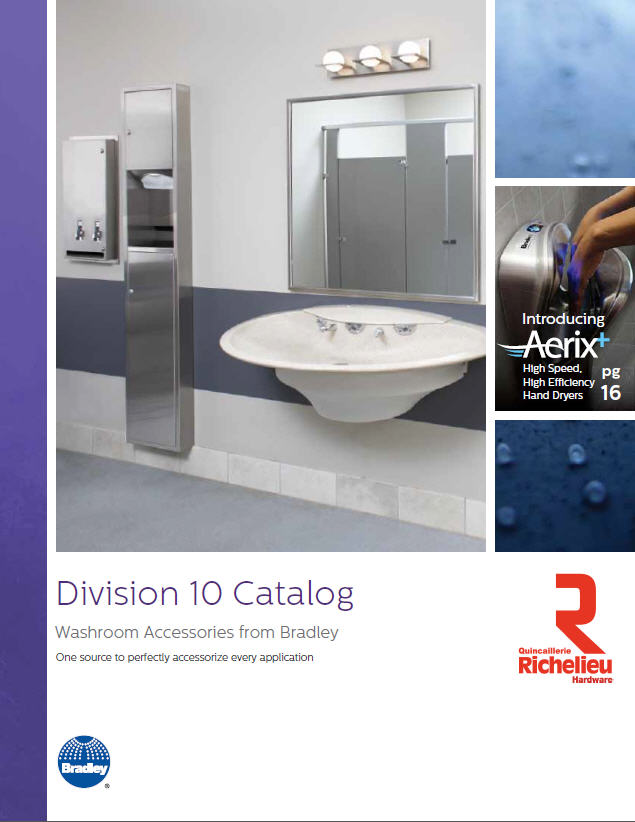 Bradley Bathroom Accessories Bradley Washroom Accessories  Richelieu Hardware