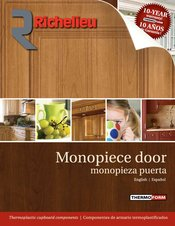 Monopiece door 