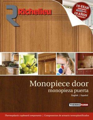 Monopiece Door