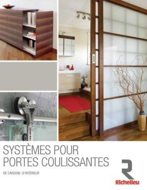 Portes Coulissantes Et Échelles Coulissantes Quincaillerie Richelieu - Porte placard coulissante et catalogue porte interieur