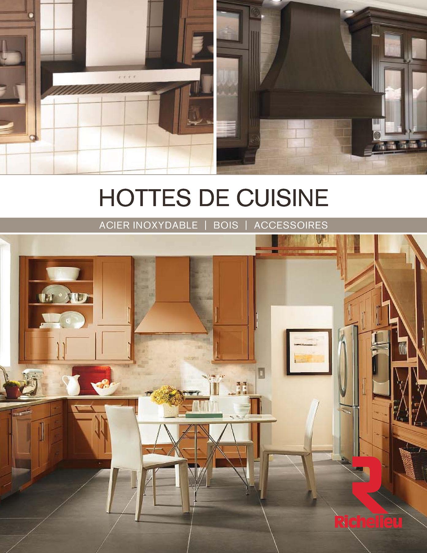 Librairie des catalogues richelieu hottes de cuisine for Catalogue accessoires cuisine
