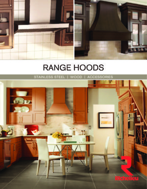 Range Hoods - Stainless Steel, Wood, Accessories