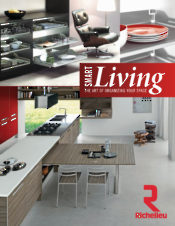 "Richelieu innovates again:  Discover the new ""Living Space"" products"